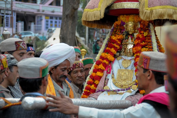 Himachali cap is a necessary crown for all religious functions