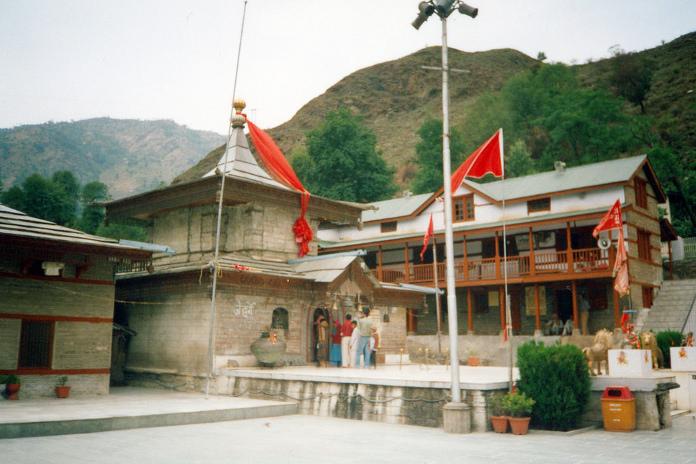 The Hateshwari Mata Temple in Hatkoti
