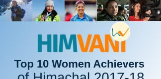 HimVani Top 10 Women Achievers of Himachal 2017-18