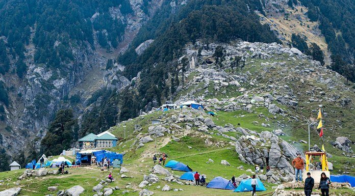himachal tourism triund