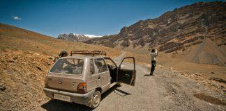 Scenery from Spiti Valley, Himachal Pradesh